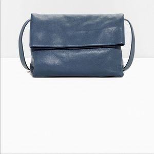 & Other Stories Foldover Leather Crossbody